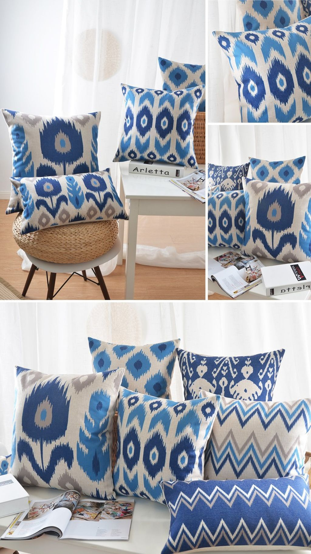 80 Incredibly Geometric Throw Pillows Ideas Living Room