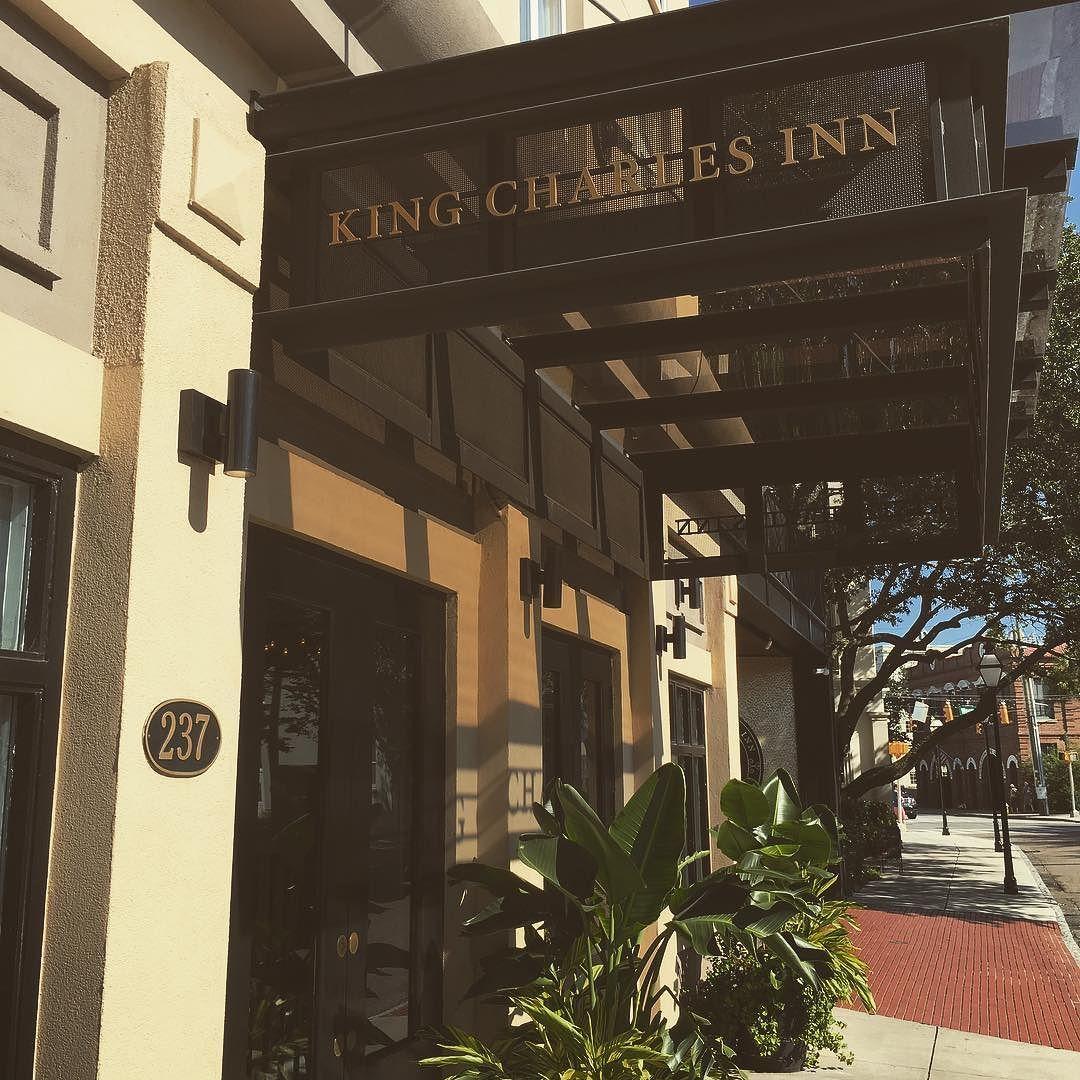 Tonight\'s hotel selection for the Traberts @kingcharlesinn ...