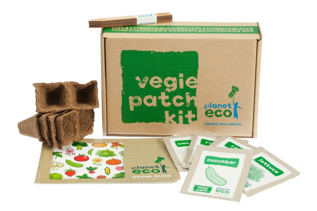 Planet Eco Vegie Kit Grow A Salad From Seed With Our Vegetable