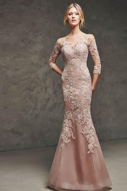 167364ad2af3b pudra rengi dantelli mezuniyet elbise modelleri 2015 | en güzel ...