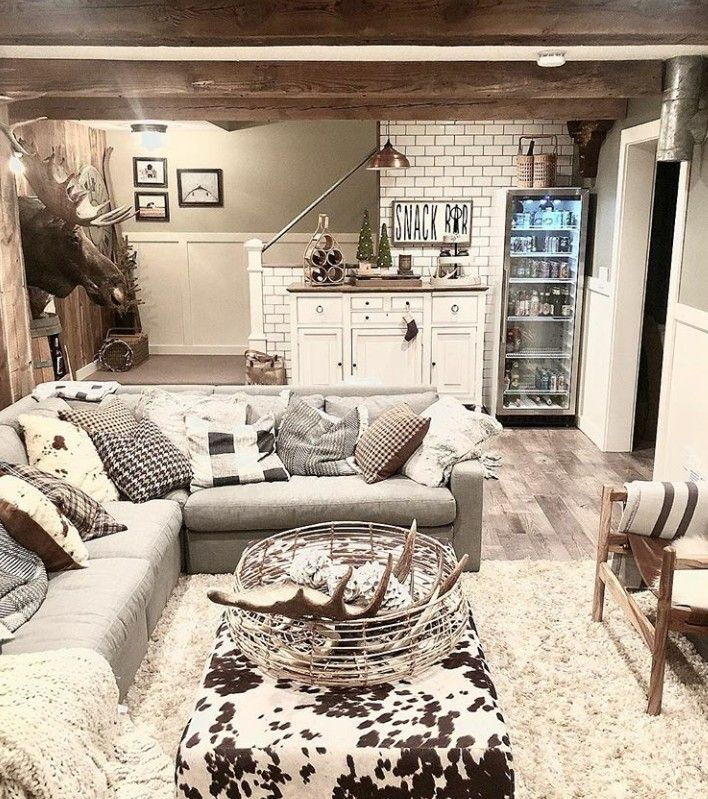 Home Design Basement Ideas: Basement Decor, Finished