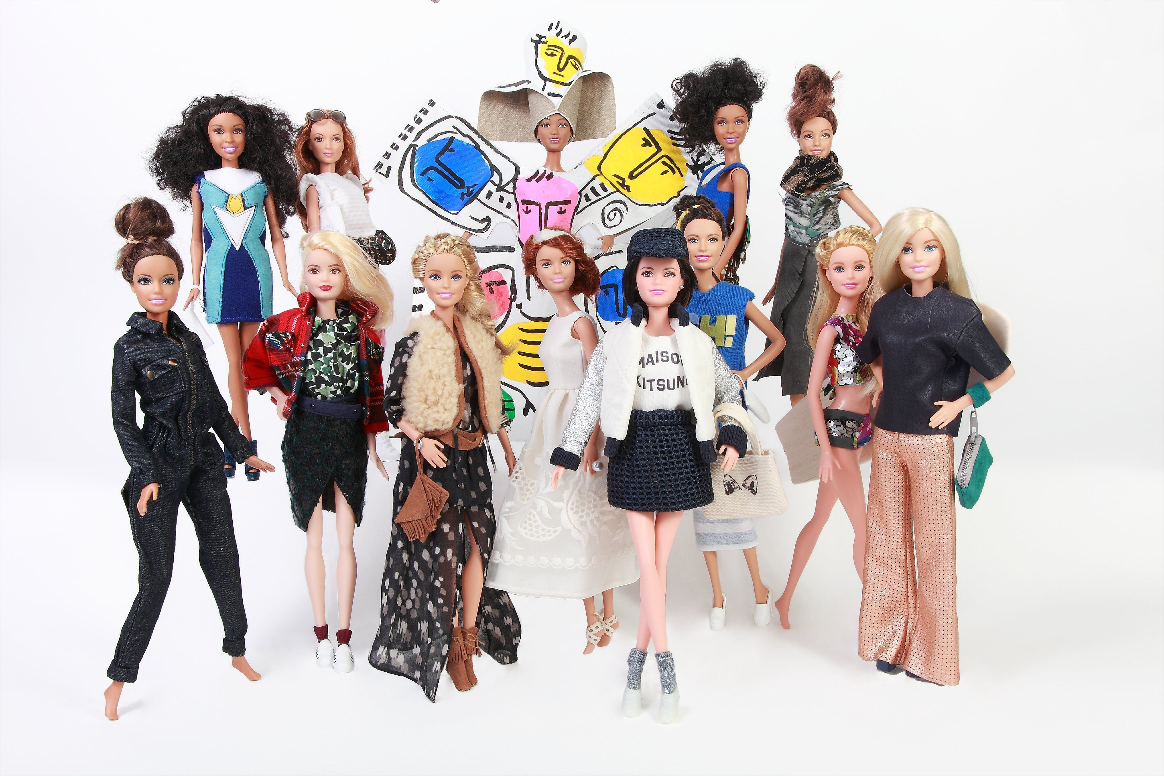 See It: 13 Fashion Designers Give Barbie a Haute Makeover