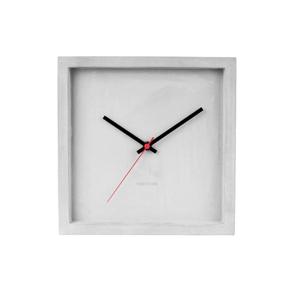 Horloge Carré Franky Carrée Karlsson L25 X H25 Cm En 2020
