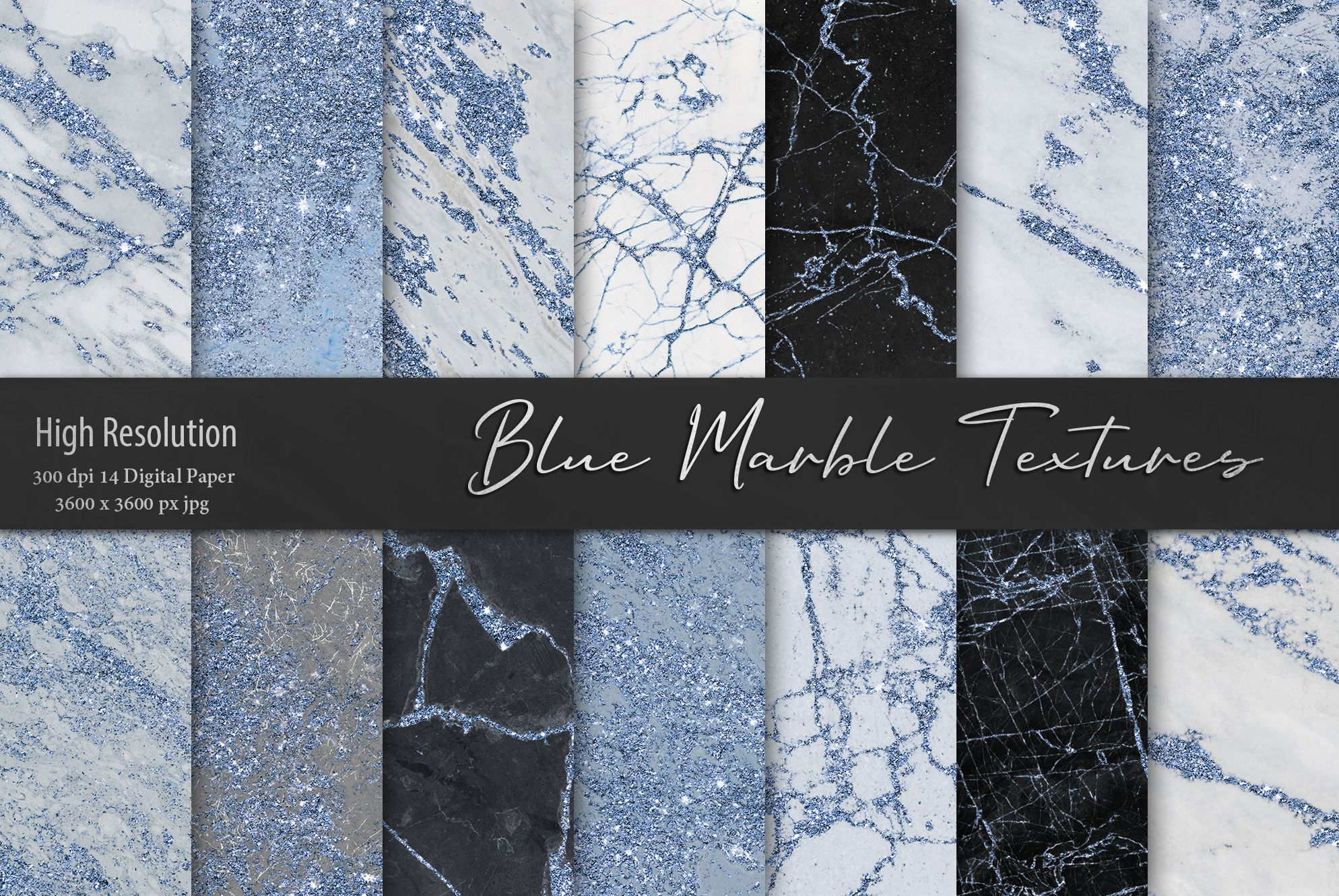 Blue Marble Textures Graphic By Artisssticcc Creative Fabrica Marble Texture Blue Marble Stone Texture