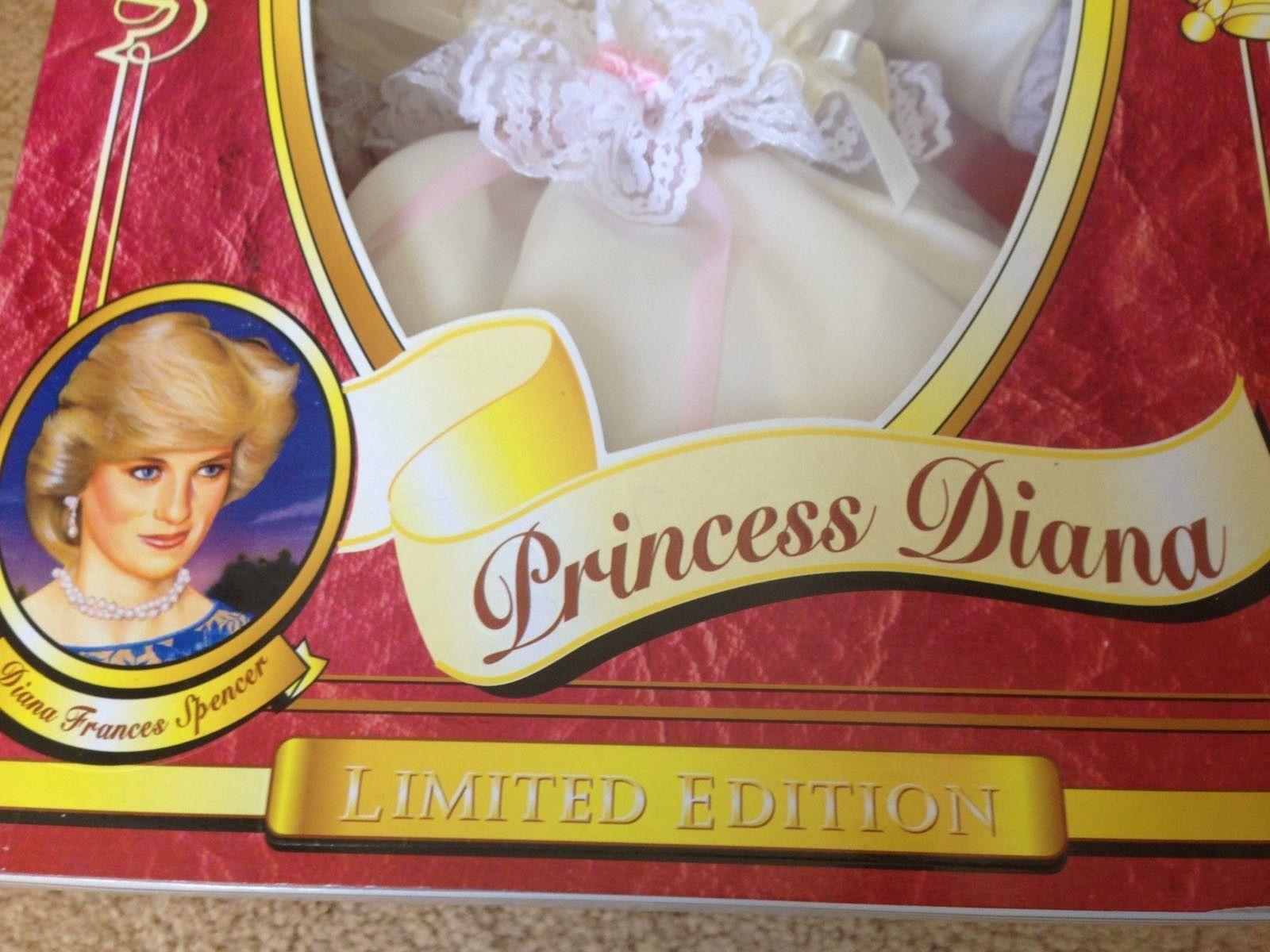 Princess Diana Doll In Replica Wedding Dress Limited Edition   Royal ...