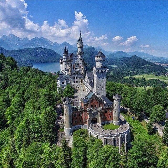 Neuschwanstein Castle Germany By @levanterman via @beautifuldestinations