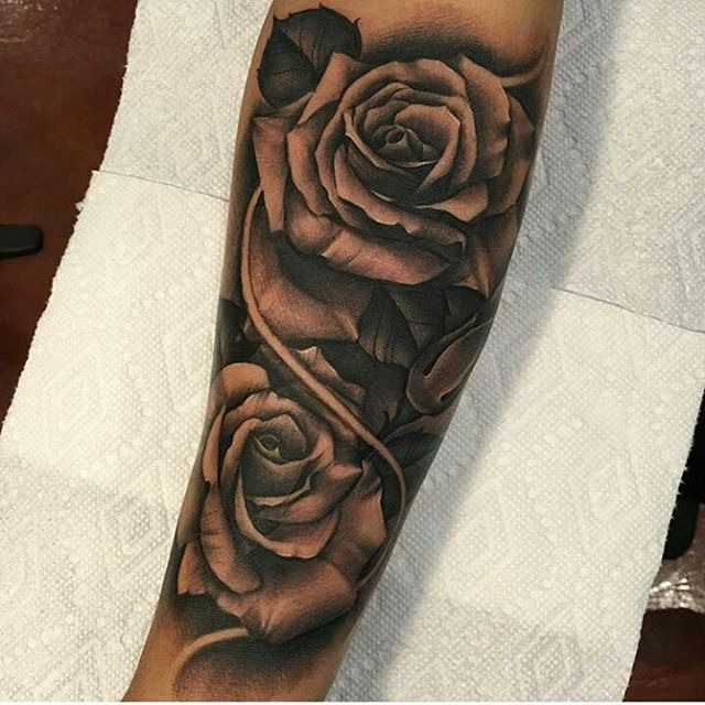 Pin By Facundo Mittelmeier On Tattoos Rose Tattoo Sleeve Rose Tattoos For Men Tattoos