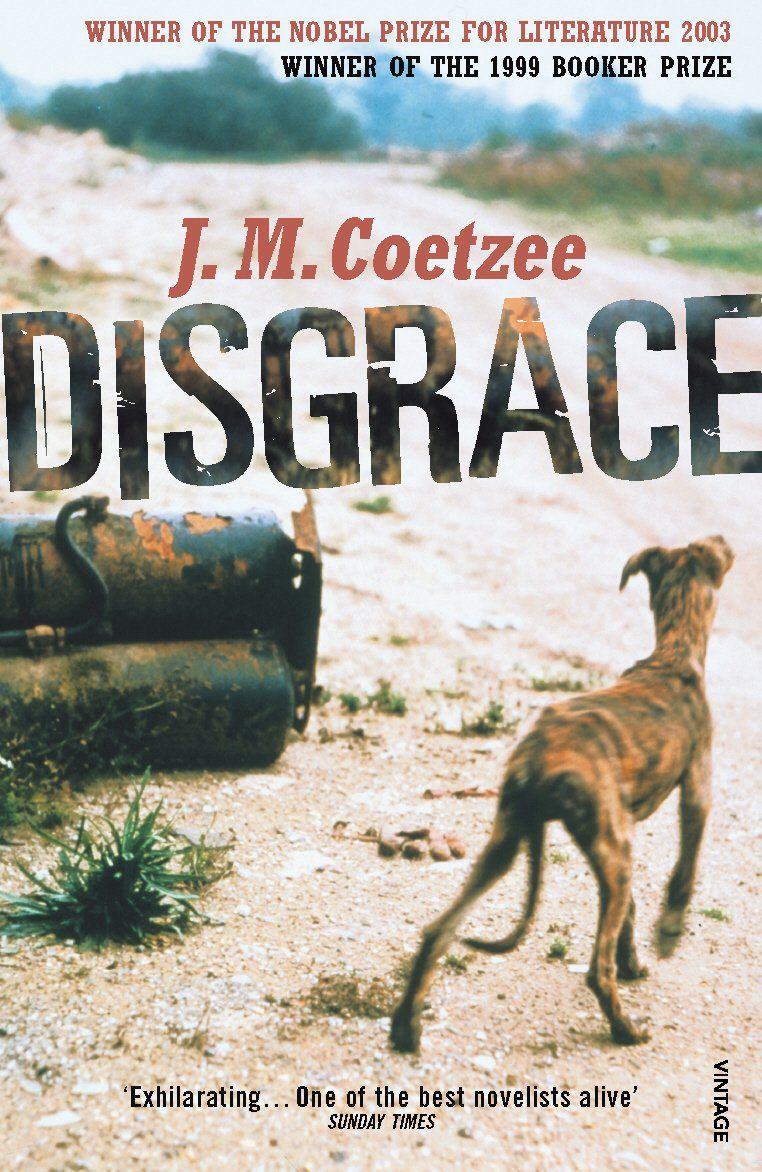 disgrace jm coetzee In jm coetzee's new novel, disgrace, which is set in a violent post-apartheid south africa, david lurie, a cape town academic, reaches a similar conclusion when his daughter lucy is gang-raped by three black men at her isolated homestead in the eastern cape.