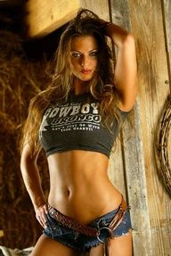 Hot country babe pic