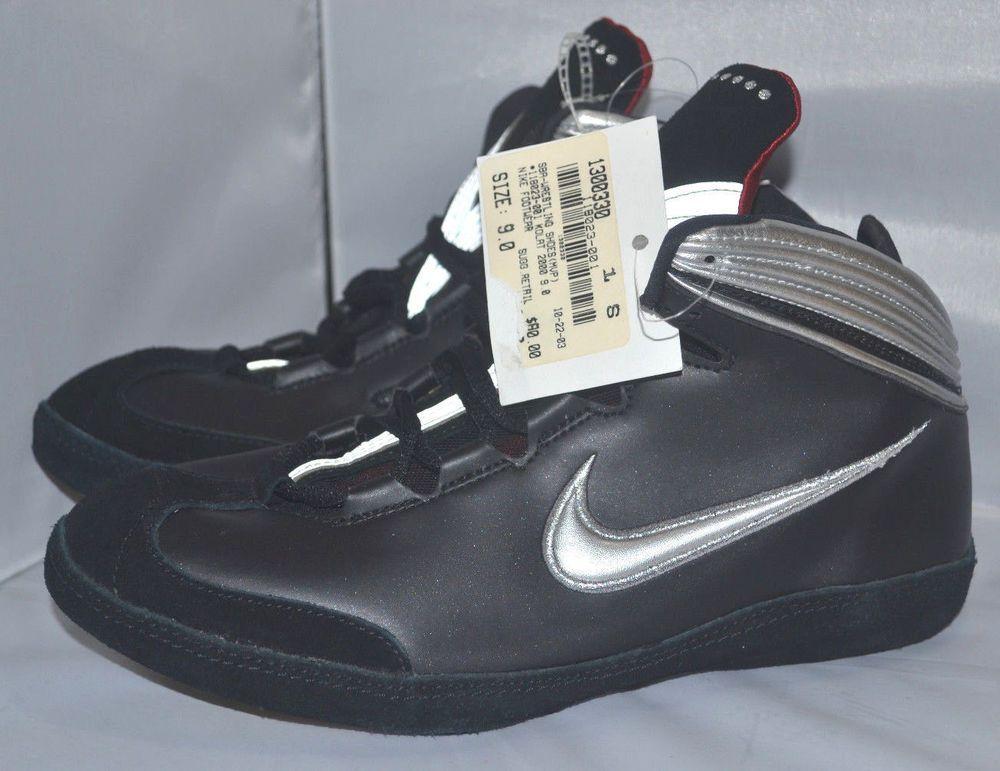 70ca9c75daa7b3 BRAND NEW!! NIKE Kolat 2000 Wrestling Shoes size 9 Mixed Martial ...