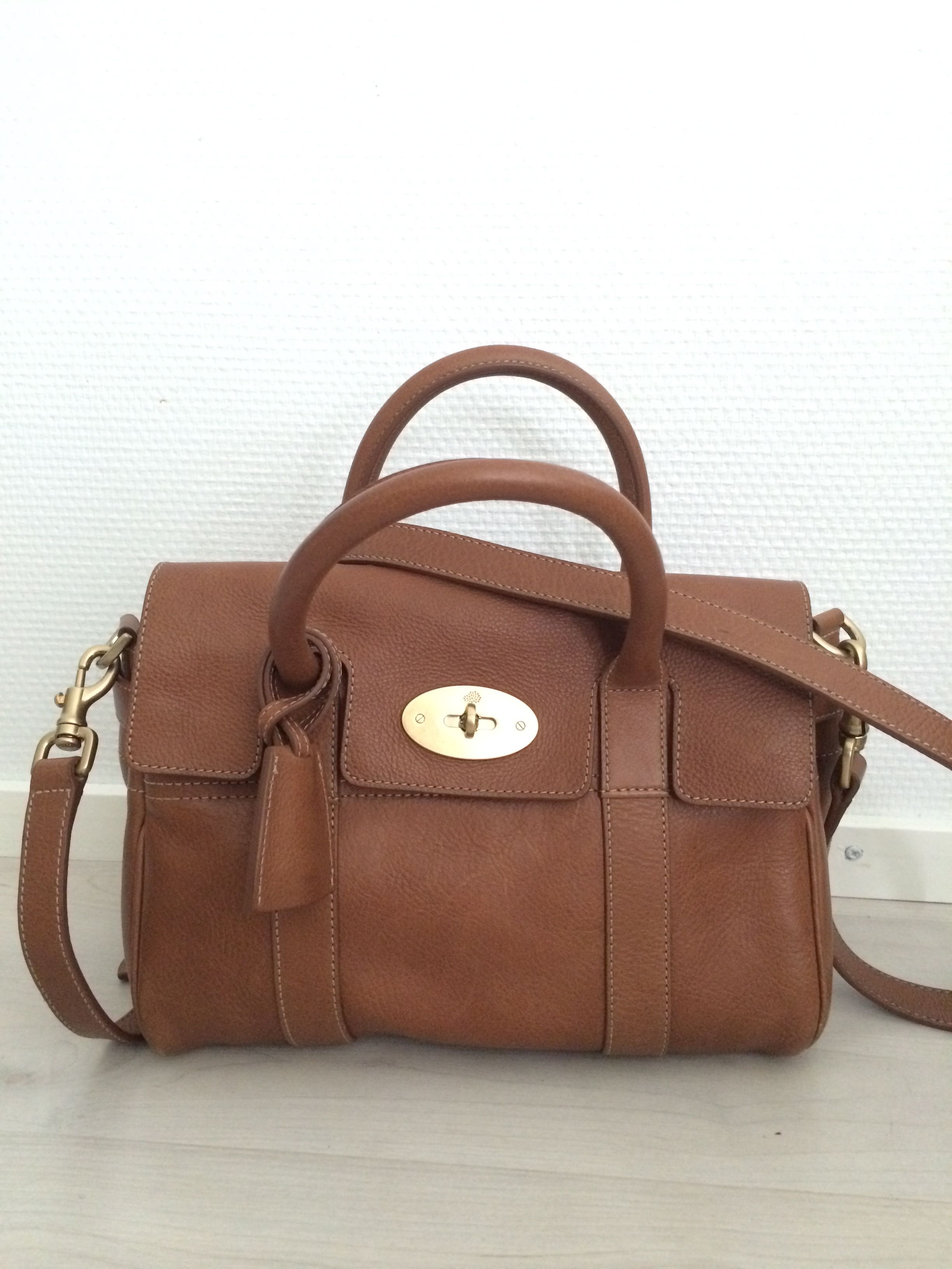1842a3eb7b Own Mulberry small bayswater satchel
