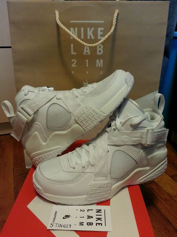 promo code 8e94f cb24a NEW DS Nike Pigalle Air Raid SP JAY Z 9 UK 8 White 21M DSM NYC yeezy lebron