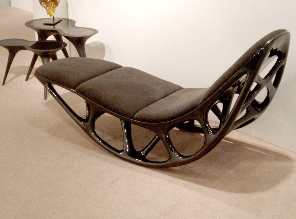 Morphogenesis chaise by Timothy Schreiber   Stuff   Pinterest