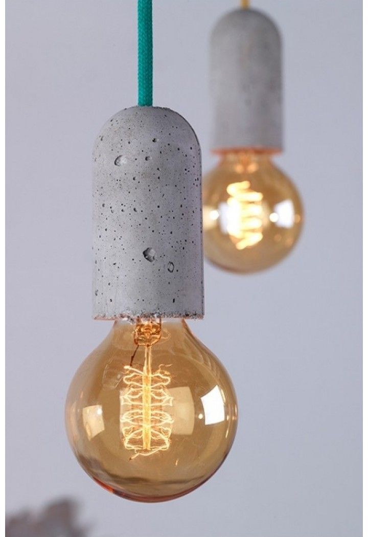 Snoer base - NUD BETON Pinterest Lampen selber machen