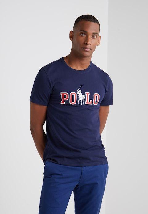 9b2cce4d Print T-shirt - cruise navy | R.L. Influence | Polo ralph lauren, T ...