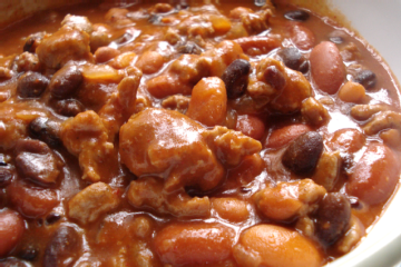 After Thanksgiving Turkey Chili