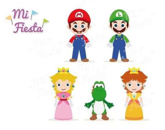 Luigi daisy. Mario brothers inspired set