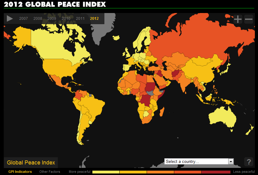 2012 Global Peace Index