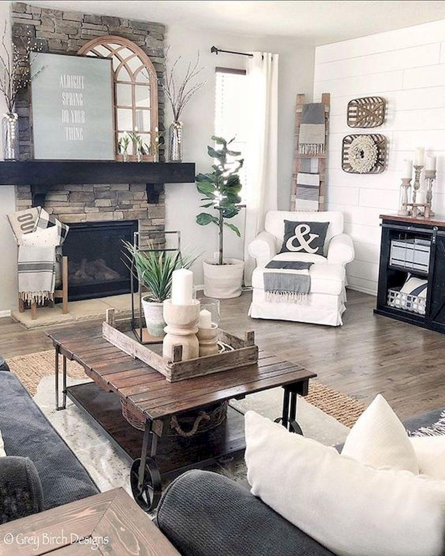 50 Cozy Farmhouse Master Bedroom Remodel Ideas: 50 Cozy Farmhouse Living Room Design And Decor Ideas