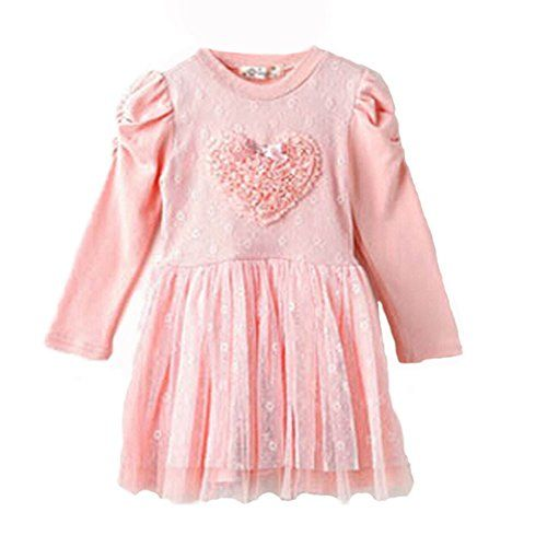 Kids Toddler Girls Princess Wedding Flower Party Pink Lace Formal Dress Clothing (110(Advice3-4Years)) ACEFAST INC http://www.amazon.com/dp/B00MWVIGAG/ref=cm_sw_r_pi_dp_-agOub0GPRD5N