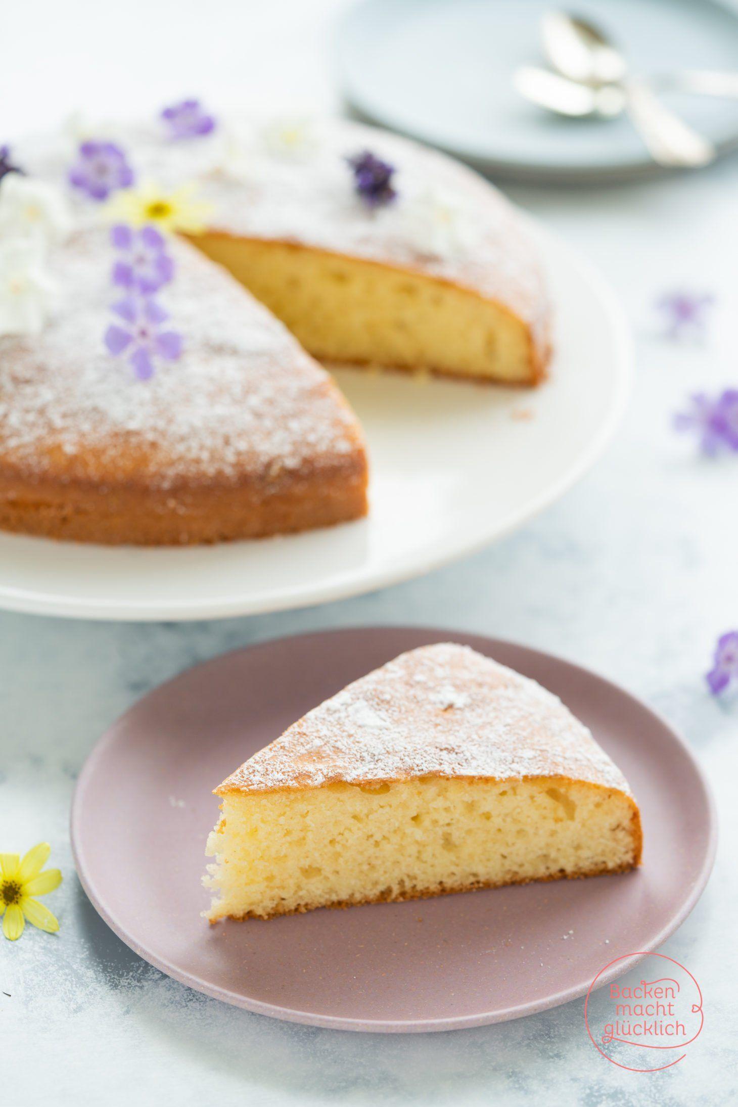 Einfacher Joghurtkuchen Becherkuchen Backen Macht Glucklich Rezept Joghurt Kuchen Becherkuchen Kuchen