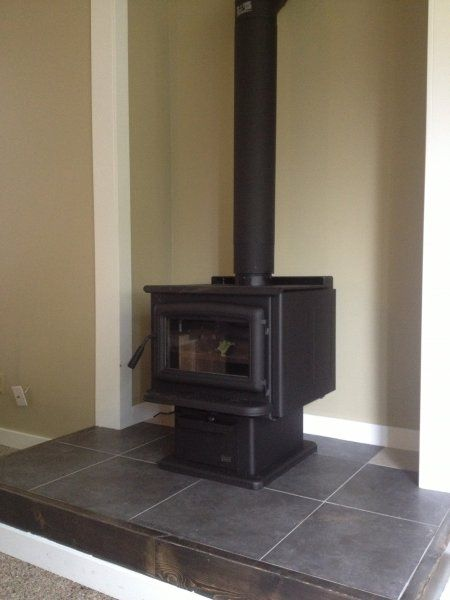 Pacific Energy Super 27 Wood Stoves Installed By FlameTech - True North Wood Stove WB Designs