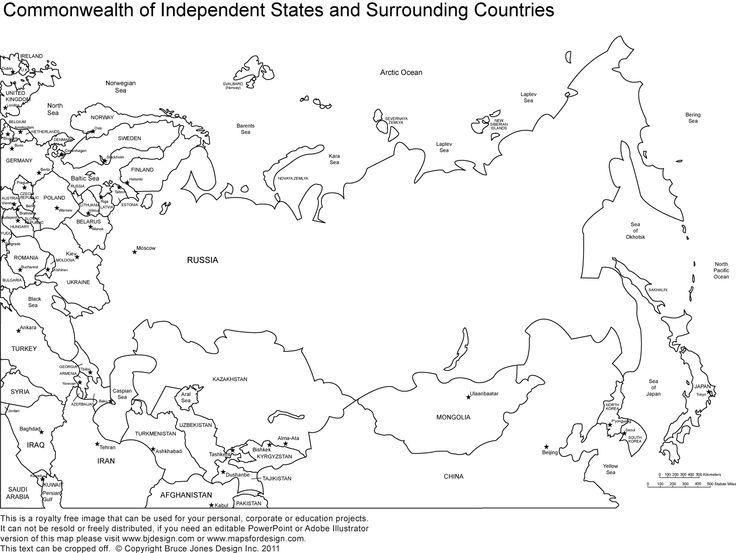 printable-map-of-russia-17.jpg (736×553) | Russia 7th Social Studies ...
