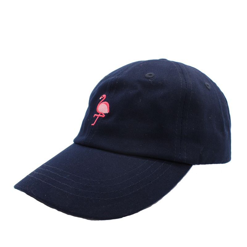 2 Color Retro Flamingo Embroidery Baseball Cap  cd5cd444c8e