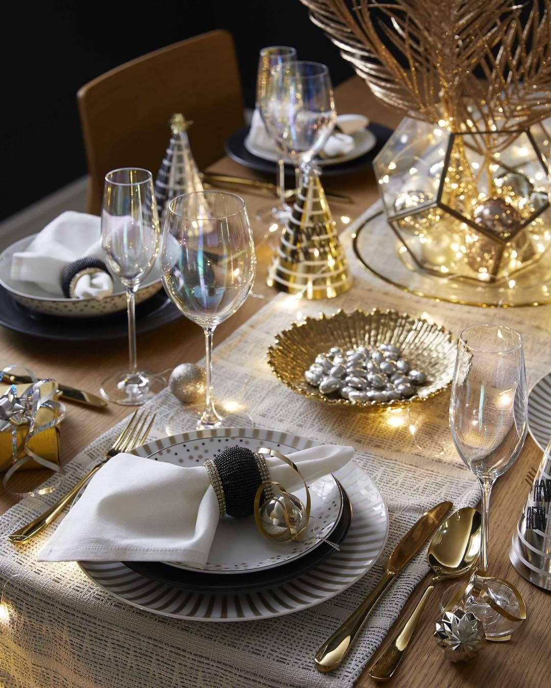 Nye Dining From Dunelmuk Reference Number 973865 High Res Image Available At Pr Christmas On A Budget Christmas Decorations Apartment Christmas Decorations