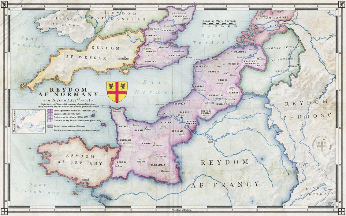 The Kingdom Of Normandy Xiith Century Alt Hist By Zalringda