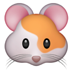 Hamster Face Emoji U 1f439 U E524 Emoji Hamster Emoji Pictures