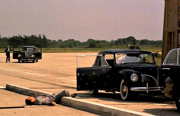 1940s mob car bombing 1940 lincoln � the godfather a