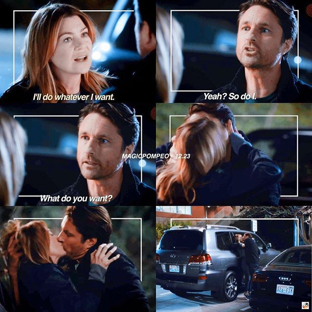 Does meredith hook up with riggs