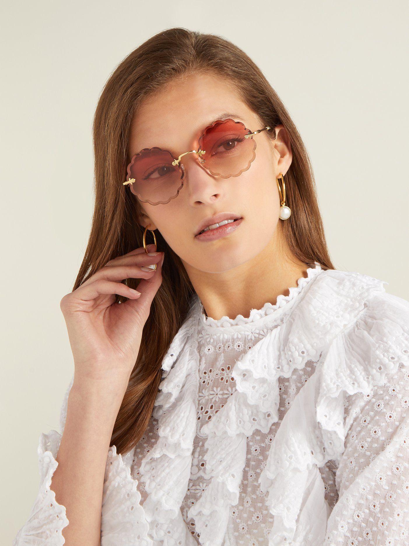 fc01bde0a5 CHLOÉ Rosie round-frame sunglasses