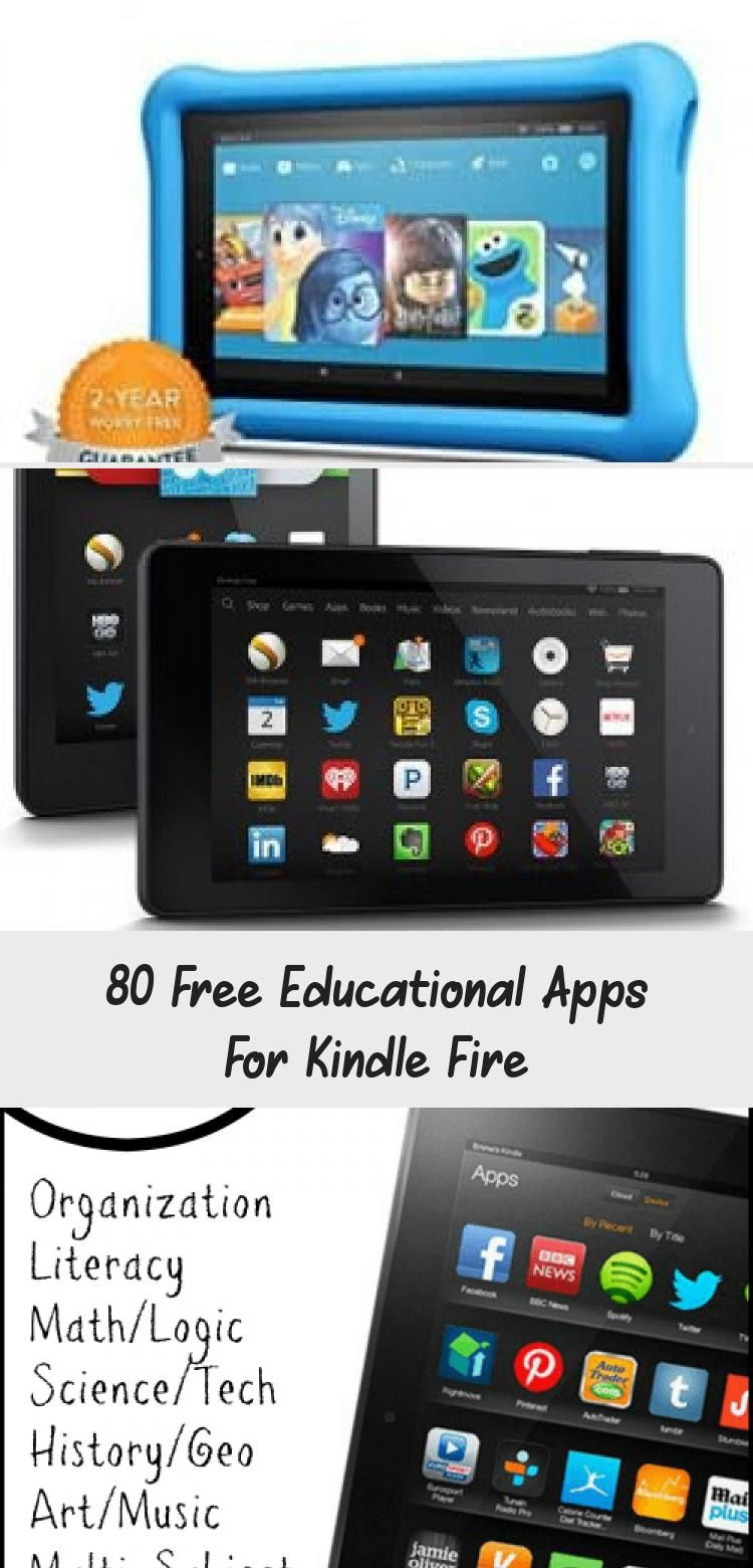 80 Free Educational Apps For Kindle Fire in 2020 (With