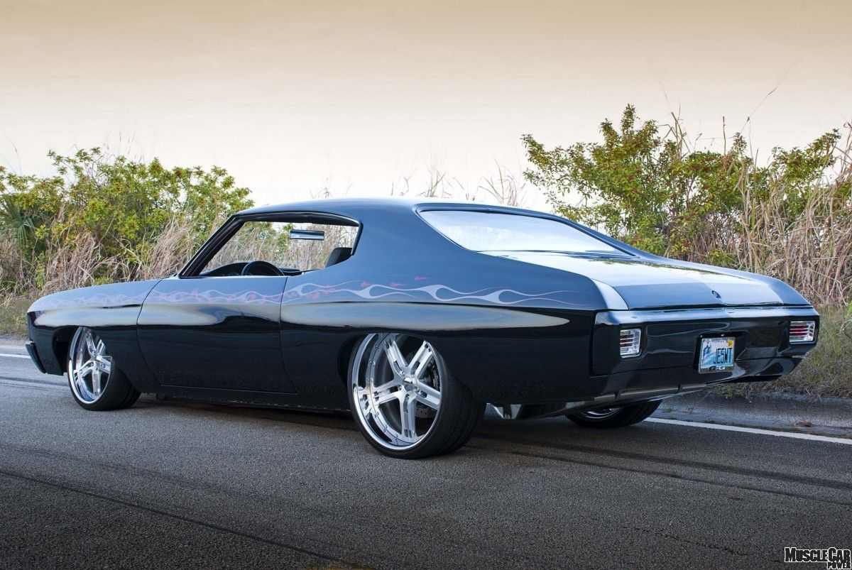 images of blown motor muscle cars | One Fast-Moving, Modernized ...