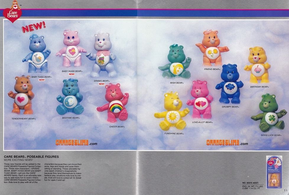 NOS Care Bears Pizza Hut Sticker Book Play It Safe 1984