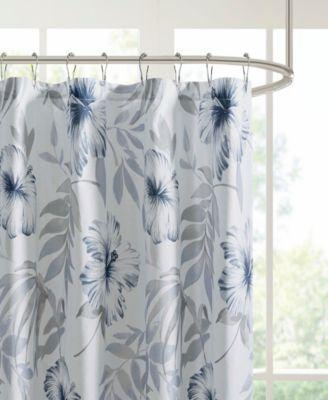 Madison Home Usa Milo 72 X 72 Cotton Shower Curtain Bedding
