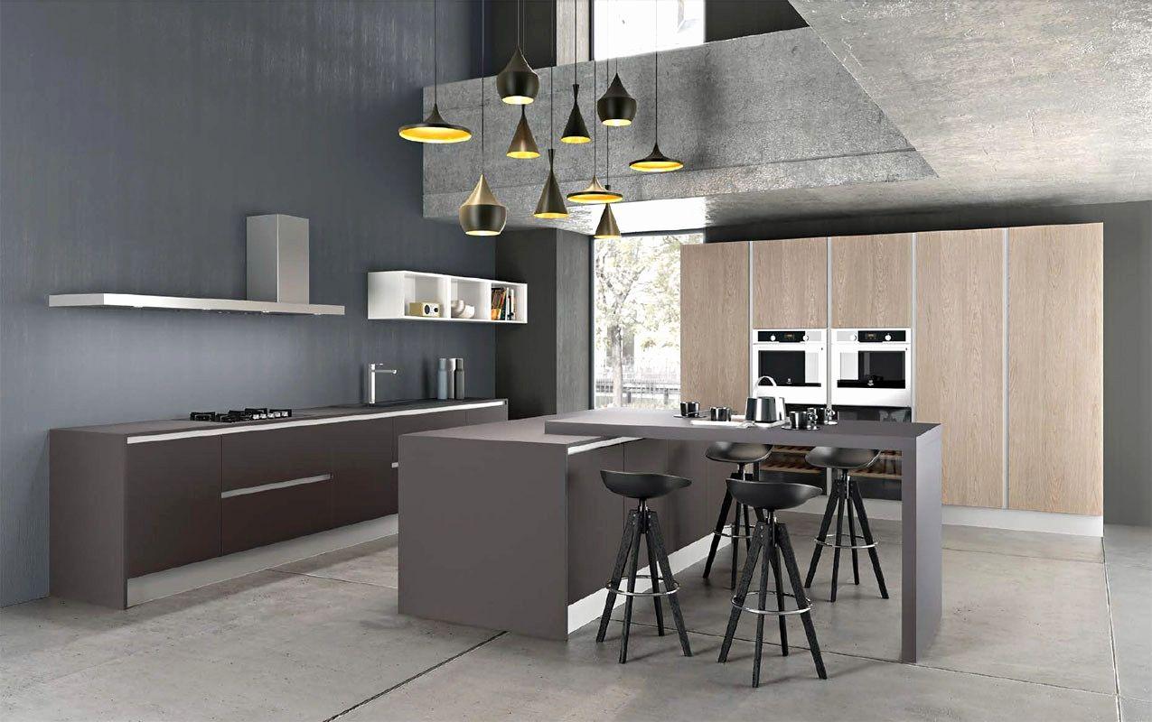 meuble de cuisine gris anthracite maison design bahbe com con ...