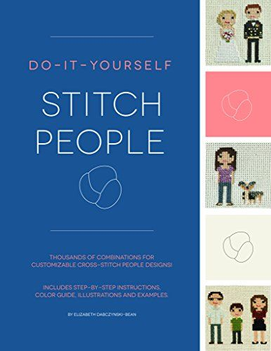 Do it yourself stitch people by elizabeth dabczynski bean https make the perfect cross stitch family portrait with our diy stitch people book designs and recommendations for hair styles skin tones clothing choices solutioingenieria Choice Image