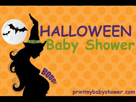 Halloween BabyShower If you are looking to combine your baby shower