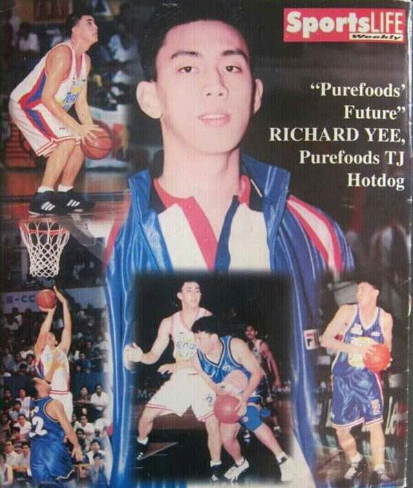 Richard Yee Of The Purefoods Tj Hotdogs Circa 1999 Pba All Filipino Cup Basketball Leagues Philippine Basketball Association Hot Dogs