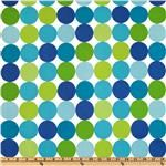 Michael Miller Disco Dot Caribe. I bought this for my son's nursery. Fabric.com has so many choices. Glad I found something I loved.