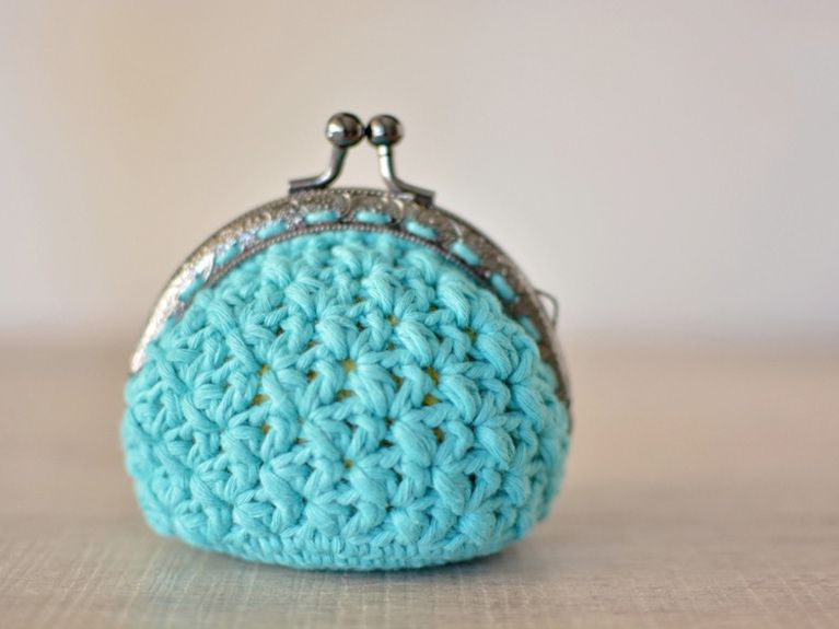 Tutoriales DIY: Cómo hacer un monedero de crochet vía DaWanda.com ...