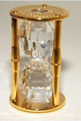 87c9103f1 Swarovski Crystal Hourglass. | Glass Menagerie | Hourglass ...