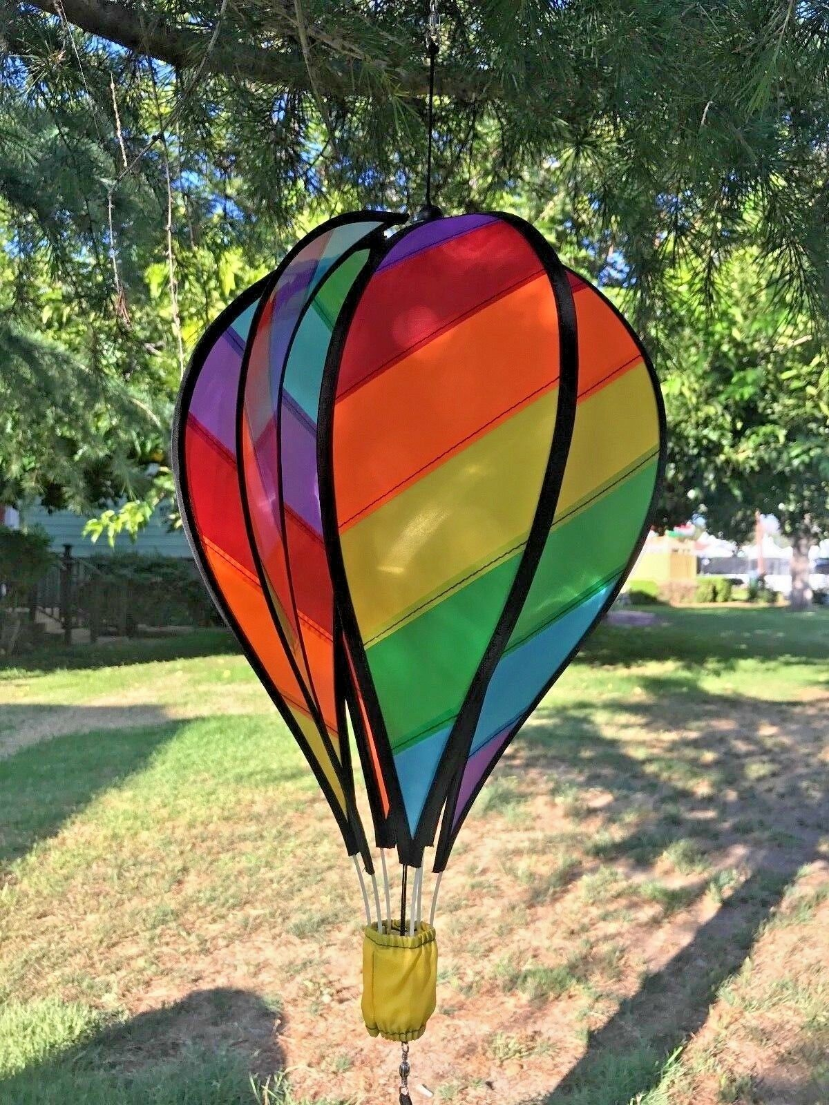 Details about Hot Air Balloon Wind Spinner Wind spinners