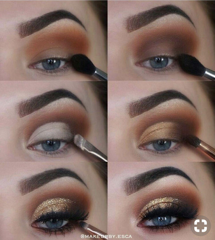 STEP BY STEP EYE MAKEUP TRICKS FOR ALL EYES Brown eye