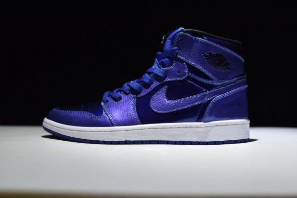 f14eca93b2f59f 2018 的 Air Jordan 1 Retro High Deep Royal Blue 332550-420 For Sale ...