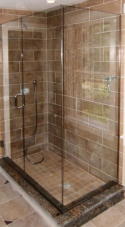 Dark Brown Marble Tile Showers There Are Two Types Of Tiled Showers The Custom Tiled Base With Tiled Shower Tile Marble Bathroom Marble Shower Tile