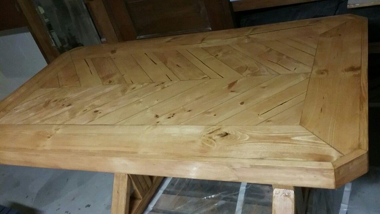 Herringbone Farm House table.